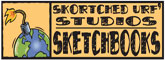 Skortched Urf' Studios SketchBooks