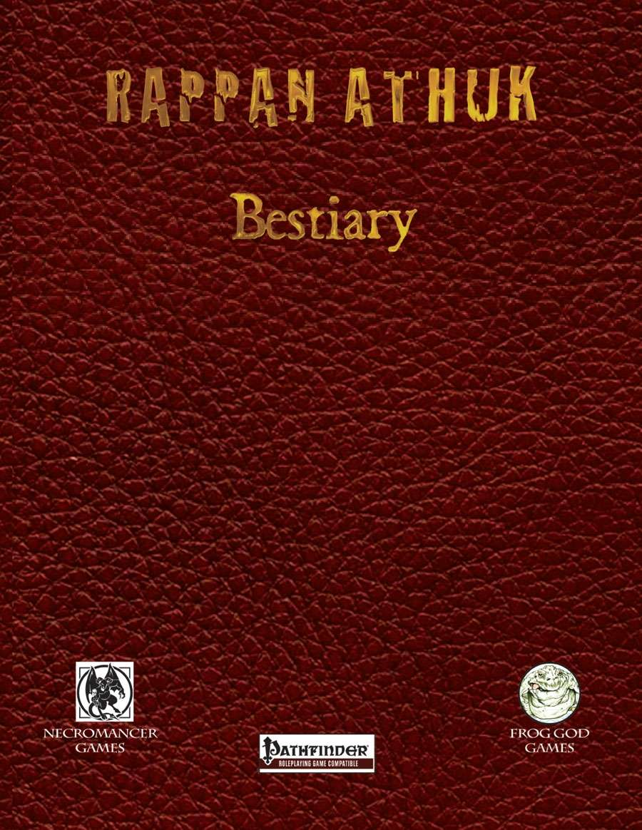 Rappan Athuk Bestiary Pathfinder Edition
