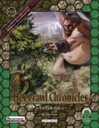 Hex Crawl Chronicles 6 The Troll Hills - Pathfinder Edition