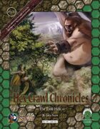 Hex Crawl Chronicles 6 The Troll Hills - Swords and Wizardry Edition