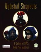 Unusual Suspects - Pathfinder Edition