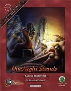 One Night Stands - Curse of Shadowhold - Swords & Wizardry Edition
