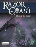 Razor Coast Heart of the Razor - Pathfinder Edition