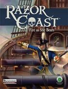 Razor Coast Fire As She Bears - Pathfinder Edition
