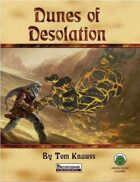 Dunes of Desolation - Pathfinder