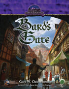 The Lost Lands: Bard's Gate Swords and Wizardry Edition