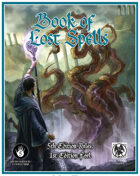 Book of Lost Spells for Fifth Edition