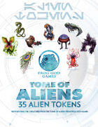 Tome of Aliens with Token Set [BUNDLE]