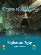 Quests of Doom 4: Nightstone Keep (5e)