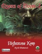 Quests of Doom 4: Nightstone Keep (PF)