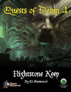 Quests of Doom 4: Nightstone Keep (Swords and Wizardry)