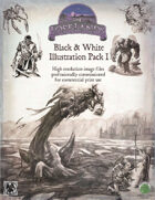 Lost Art: Black & White Illustrations Pack 1 (Commercial License)