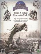 Lost Art: Black & White Illustrations Pack 1 (Commercial License)
