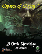 Quests of Doom 4: A Little Knowledge (SW)