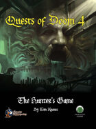 Quests of Doom 4: The Hunter's Game (SW)
