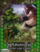 Hex Crawl Chronicles Six-Pack (Pathfinder) [BUNDLE]