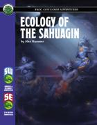 Ecology of the Sahuagin