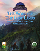 The World of The Lost Lands: Rules Addendum (PF)