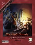 One Night Stands - Jungle Ruins of Madaro Shanti - Pathfinder Edition