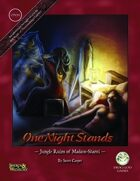 One Night Stands - Jungle Ruins of Madaro Shanti - Swords and Wizardry Edition