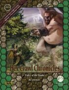 Hex Crawl Chronicles 1 Valley of the Hawks - Swords and Wizardry Edition