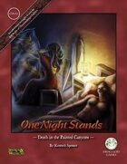 One Night Stands - Death in the Painted Canyons - Swords and Wizardry Edition