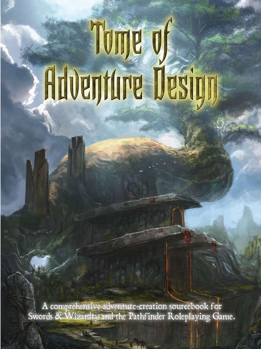 Tome of Adventure Design Cover