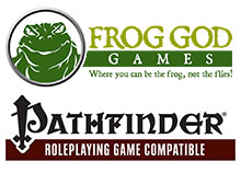 Frog God Game Pathfinder Books