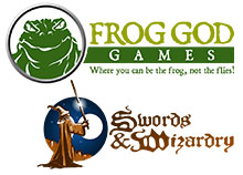 Frog God Game Swords & Wizardry Books