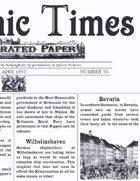 April 1857 Scramble for Empire Victorian Colonial wargames campaign newspaper