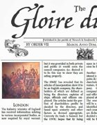March 1709 AD The Glory of Kings 18th century wargames campaign newspaper
