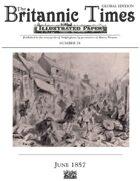 June 1857 Scramble for Empire Victorian Colonial wargames campaign newspaper