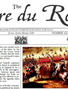 June 1709 AD The Glory of Kings 18th century wargames campaign newspaper
