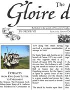 August 1709 AD The Glory of Kings 18th century wargames campaign newspaper