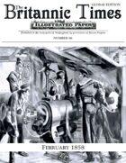 February 1858 Scramble for Empire Victorian Colonial wargames campaign newspaper