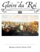 March 1710 AD The Glory of Kings 18th century wargames campaign newspaper