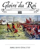 April 1710 AD The Glory of Kings 18th century wargames campaign newspaper