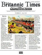 July 1858 Scramble for Empire Victorian Colonial wargames campaign newspaper