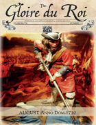 August 1710 AD The Glory of Kings 18th century wargames campaign newspaper