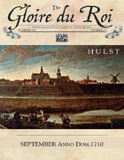September 1710 AD The Glory of Kings 18th century wargames campaign newspaper