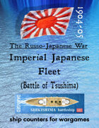 Russo-Japanese War fleet: The Imperial Japanese Navy (for the Battle of Tsushima, etc.)