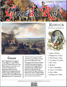Glory of Kings September 1711 18th century wargames campaign newspaper