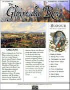 Glory of Kings October 1711 18th century wargames campaign newspaper