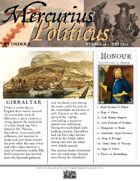 Glory of Kings May 1702 18th century wargames campaign newspaper