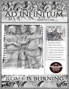 Rome is Burning Martius 818 auc Newspaper