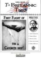 Scramble for Empire Victorian Colonial Steampunk wargames campaign newspaper October 1860
