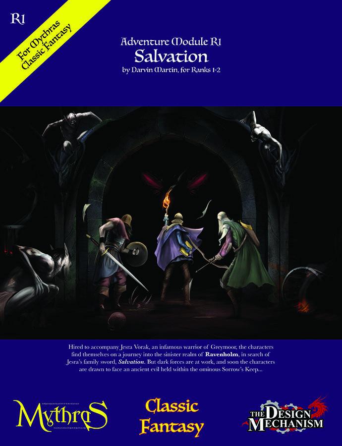 R1: Salvation - Design Mechanism | Classic Fantasy