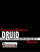Character Workbook Revised: Druid for PFRPG