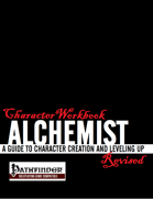Character Workbook Revised: Alchemist for PFRPG