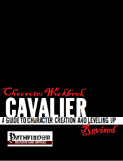 Character Workbook Revised: Cavalier for PFRPG